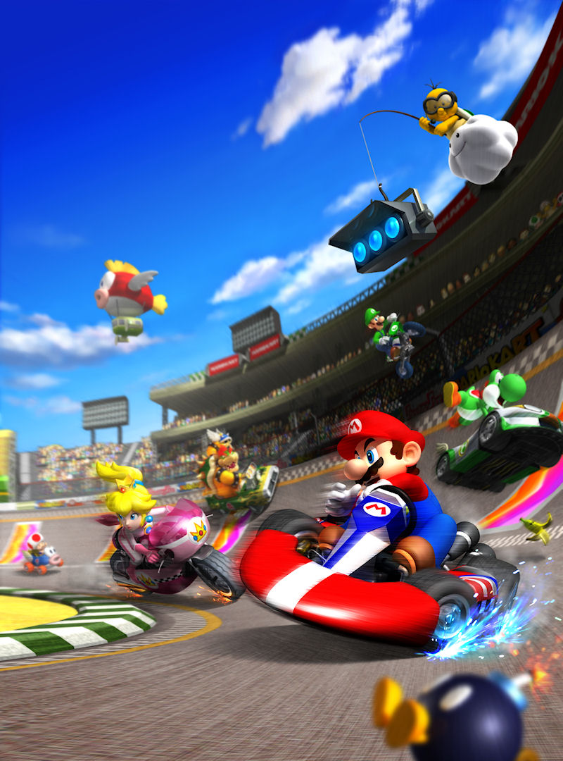 nice jeu en ligne cars 7 mario kart wii art. Black Bedroom Furniture Sets. Home Design Ideas