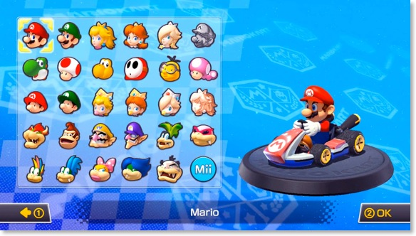how to use amiibo in mario kart 8 deluxe