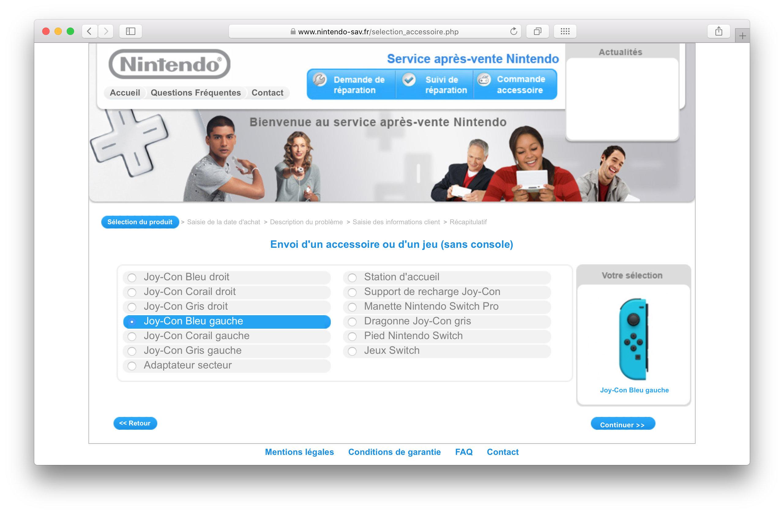 Joy-Con Nintendo : Soucis résolu ?